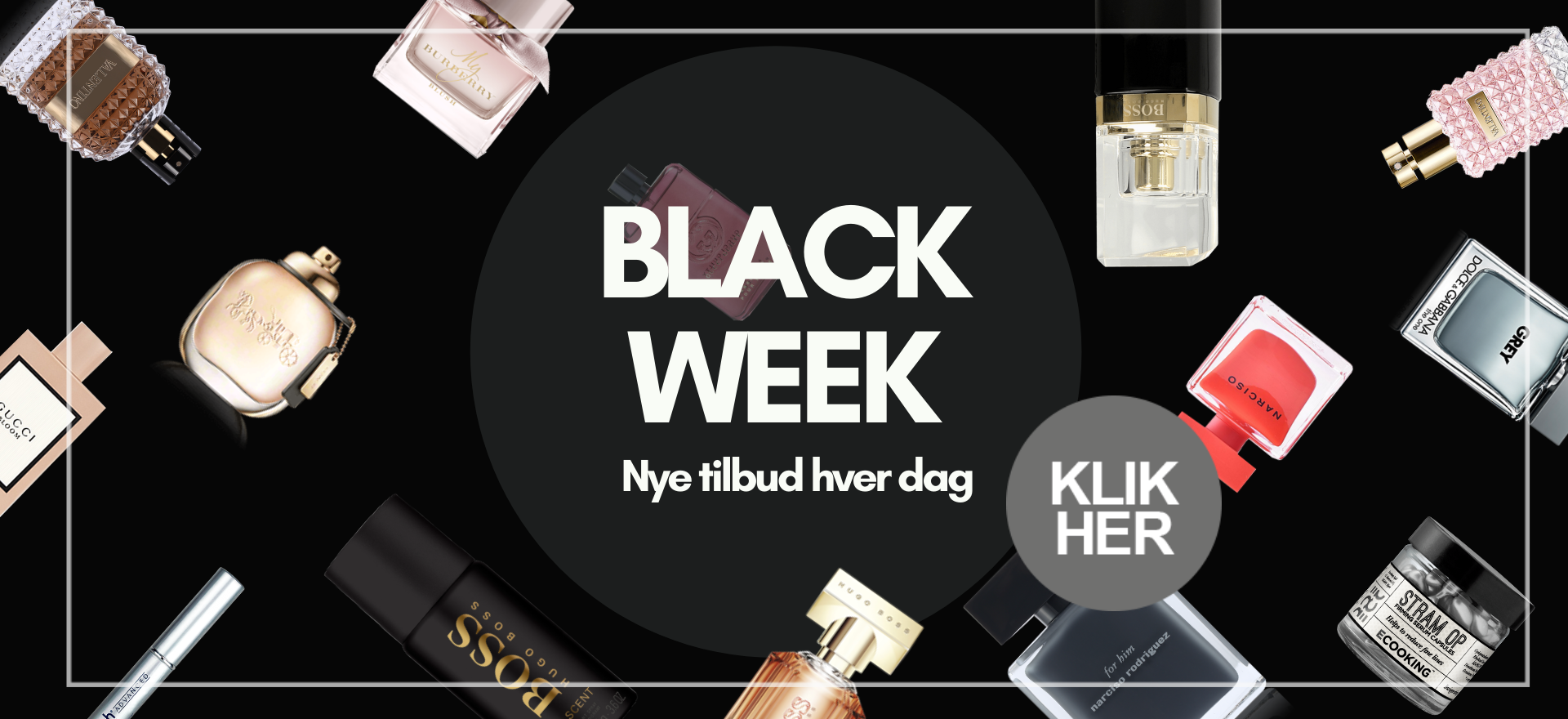 Black Weekend 2019 BilligParfume.dk