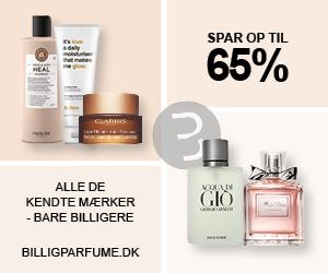 BilligParfume har parfume til spotpriser - bruger dem selv. Ingen abonnementsgebyrer