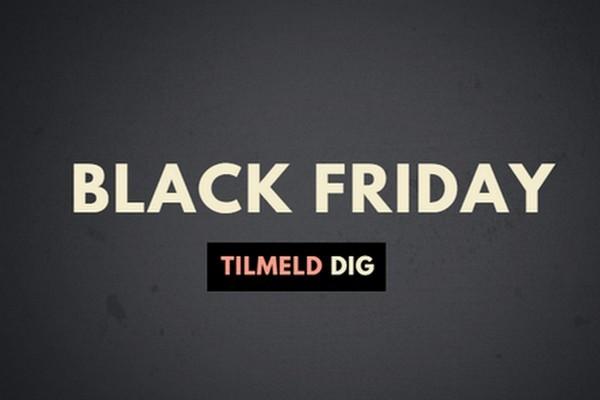 tilmeld dig black friday hos BilligParfume.dk