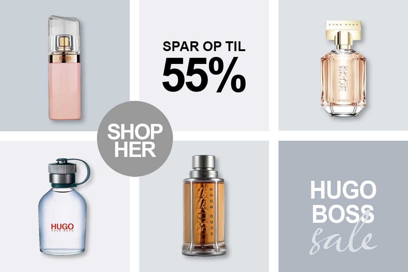 hugo Boss Parfume og dufte tilbud hos BilligParfume.dk
