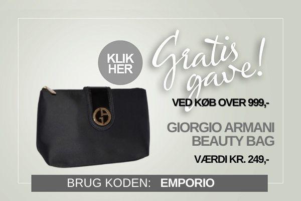 Gratis gave Armani Beauty Bag