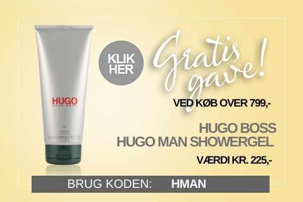 Gratis gave Hugo Boss Man showergel