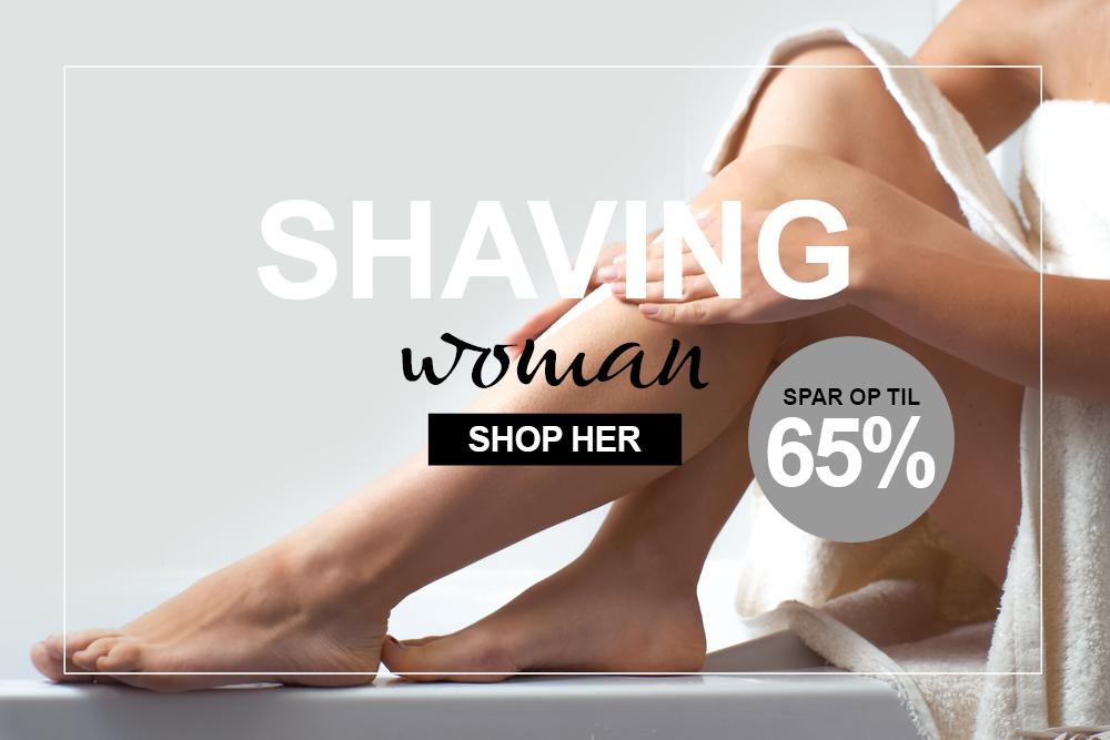 Tilbud, barbering og hårfjerning til kvinder