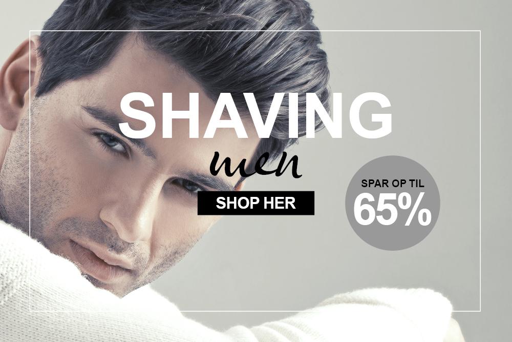 Tilbud barbering og shaving til mænd
