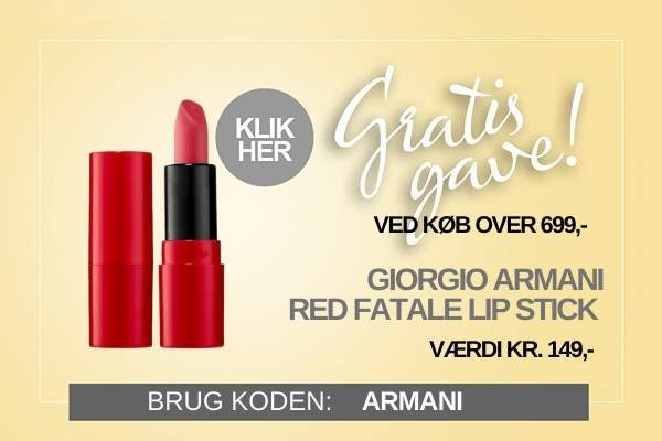 Gratis gave Armani Læbestift