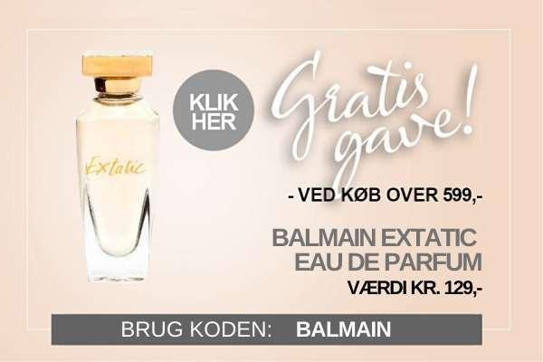 Gratis gave Balmain Mini parfume Edp