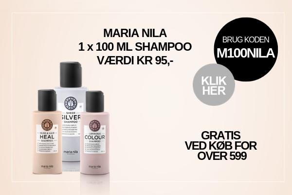 Gratis gave Maria Nila shampoo