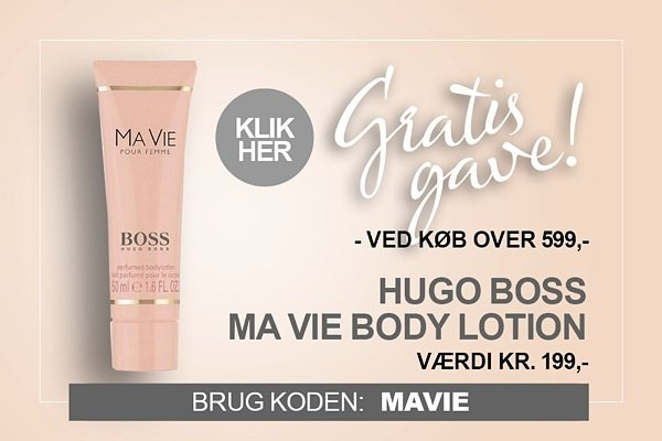 Gratis gave BOSS Ma Vie Bodylotion