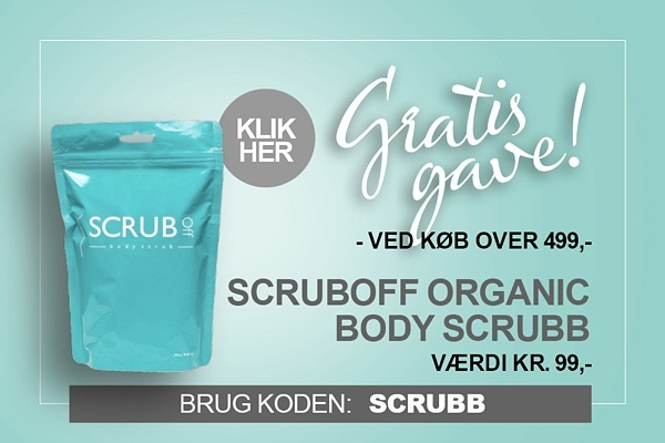 Gratis gave Scrubboff body scrub organic