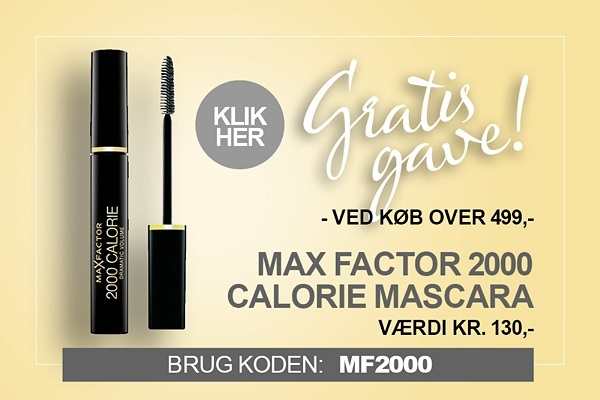 Gratis gave Max Factor mascara