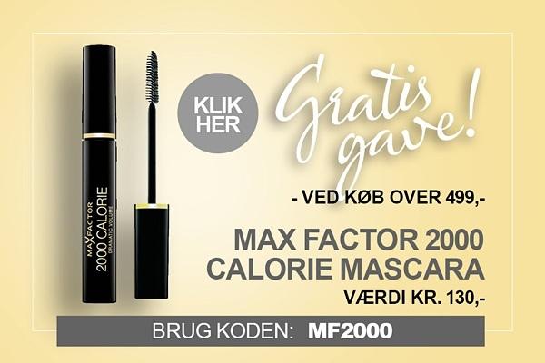 Gratis gave Max Factor mascara