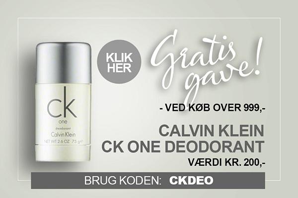 Gratis gave Calvin Klein CK One deodorant stick