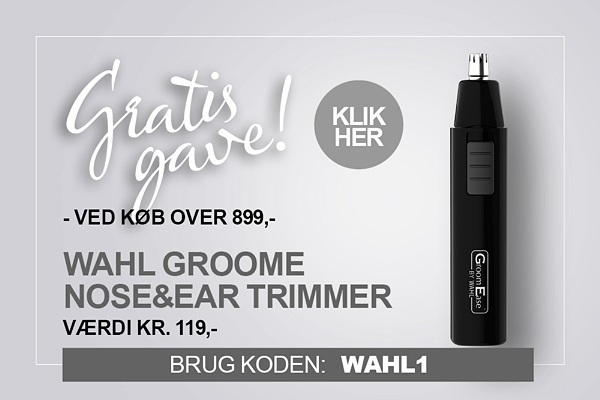 Gratis gave Wahl Næsehårstrimmer
