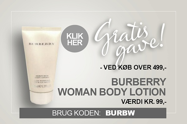 Gratis gave Burberry Body Lotion