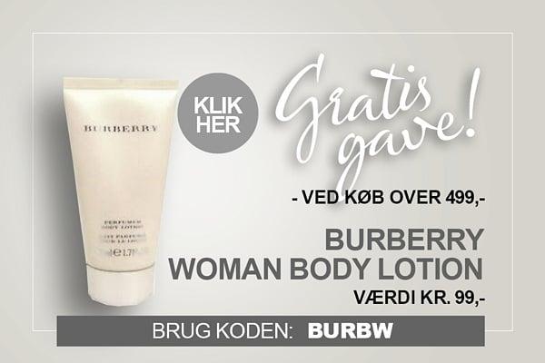 Gratis gave Burberry Body Lotion