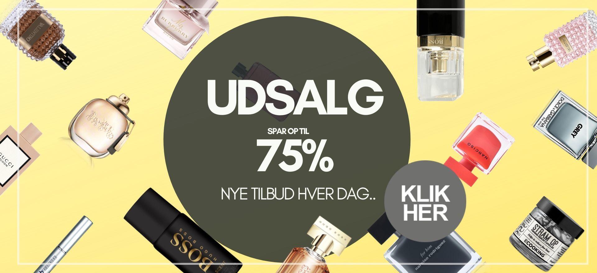 Tilbud SALE BilligParfume.dk