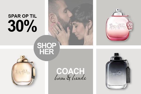 Coach Parfume og dufte tilbud hos BilligParfume.dk