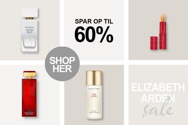 Elizabeth Arden Parfume, dufte, cremer og makeup tilbud hos BilligParfume.dk
