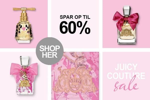 Juicy Couture Parfume Tilbud hos BilligParfume.dk
