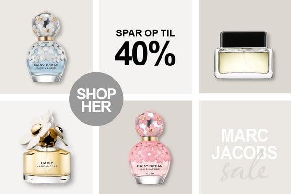 Marc Jacobs Parfume og dufte tilbud hos BilligParfume.dk