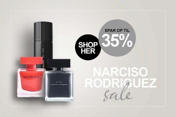 Narciso Rodriguez Parfume Tilbud hos BilligParfume.dk