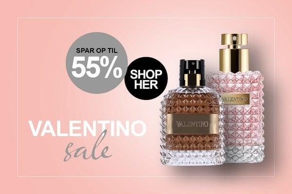 Valentino Parfume Tilbud hos BilligParfume.dk