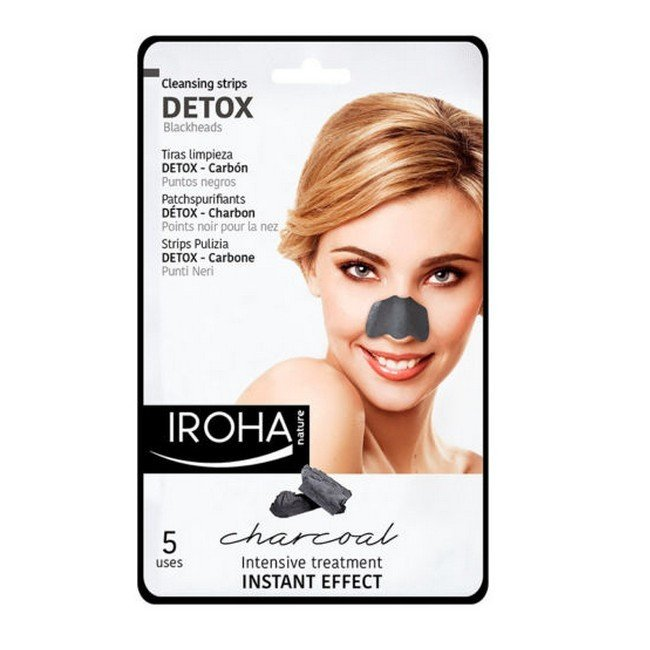 Iroha Nature - Detox Charcoal Cleansing Nose Strips