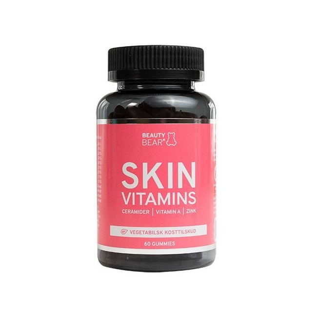 Beauty Bear Vitamins - SKIN Vitamins Gummies - Vingummier - 1 måned