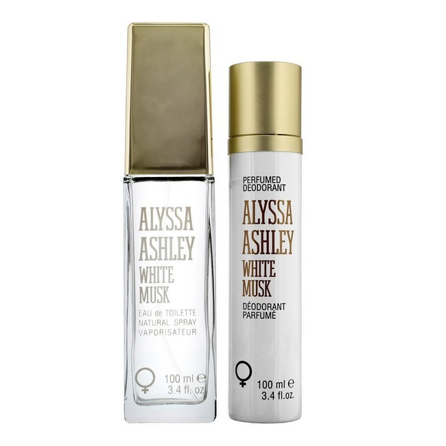 Image of   Alyssa Ashley - White Musk - 100 ml Edt - Deodorant Spray 100 ml