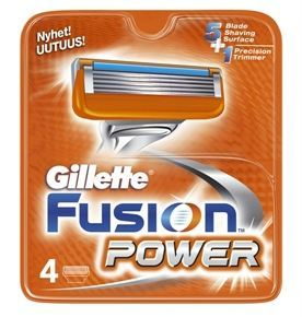 Gillette - Fusion Power - Barberblade 4-pak