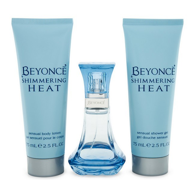 Image of   Beyonce - Shimmering Heat - 30 ml Edp - Body Lotion - Shower Gel