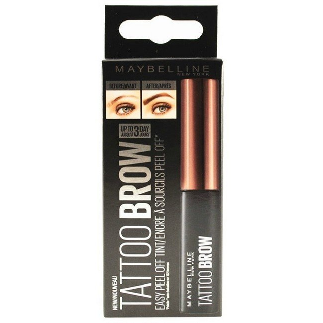 Maybelline - Tattoo Brow Easy Peel Off - Medium Brown