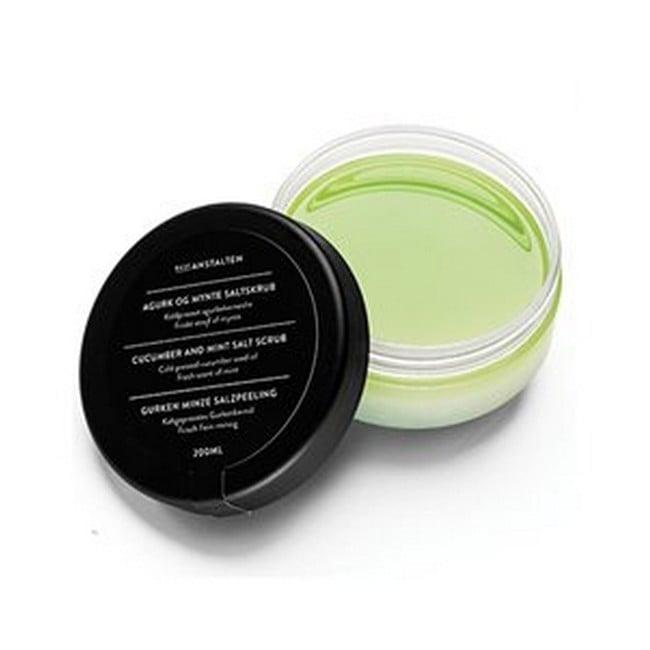 Badeanstalten - Bodyscrub - Agurk og Mynte Saltskrub - 200 ml