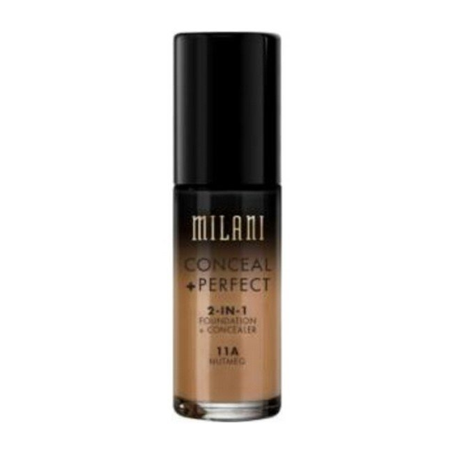 Image of   Milani Cosmetics - Foundation 2in1 - 11A Nutmeg - Conceal Perfect Foundation and Concealer