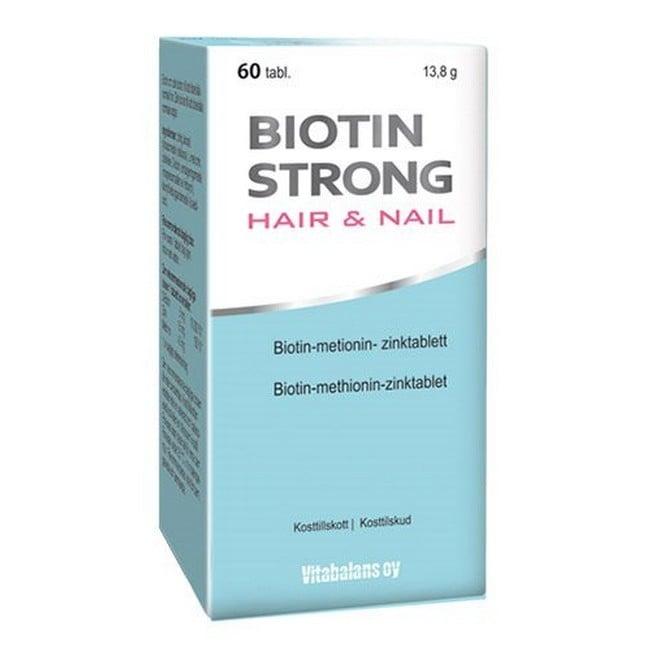 Image of Biotin - Biotin Strong Hair & Nail - 60 Stk