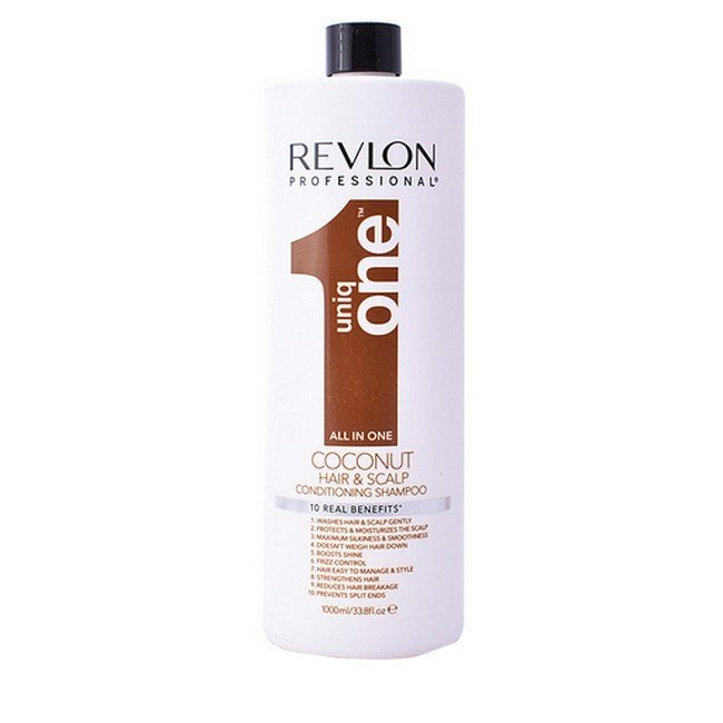 Revlon - Uniq One Coconut - All In One Conditioning Shampoo - 1000 ml thumbnail
