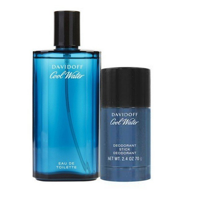 Image of   Davidoff - Cool Water Men Sæt - 125 ml Edt - Deodorant Stick