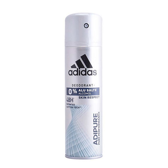 Image of   Adidas - Adipure 0% Alu Salts Deodorant Spray - 150 ml