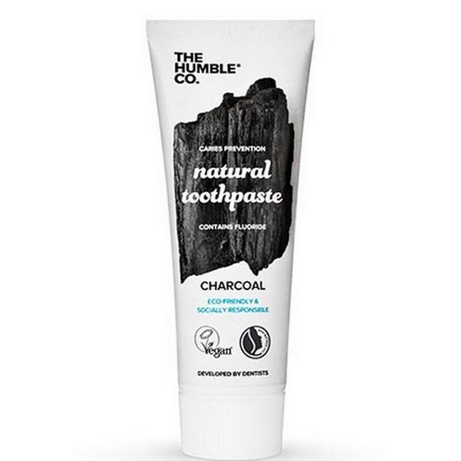 The Humble Co - Tandpasta Charcoal - 75 ml thumbnail