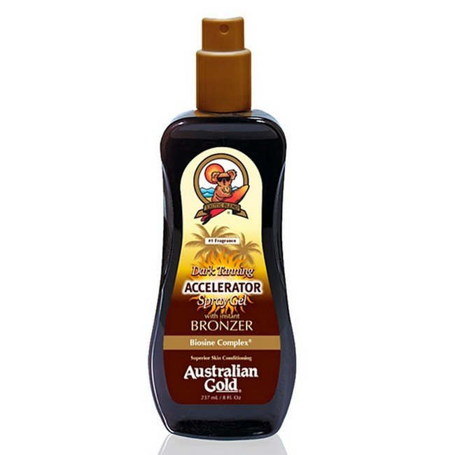 Image of Australian Gold - Tan Accelerator Spray Gel Bronzer - 237 ml
