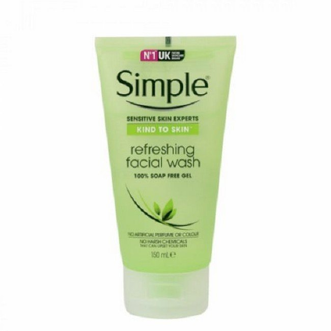 Image of Simple - Kind To Skin Refreshing Facial Wash - 150 ml