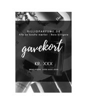 Gavekort - Kr 1000 - Med Gratis Parfume & Gavepose