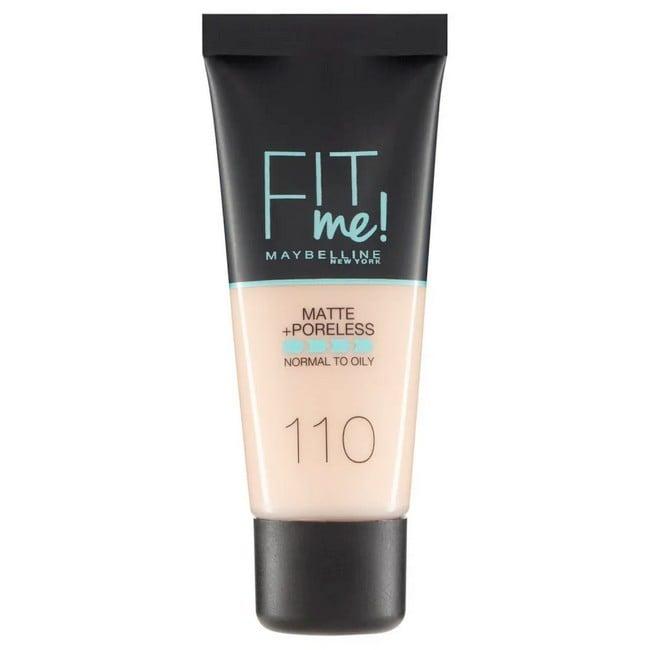 Maybelline - Fit Me Liquid Foundation Porcelain - 30 ml
