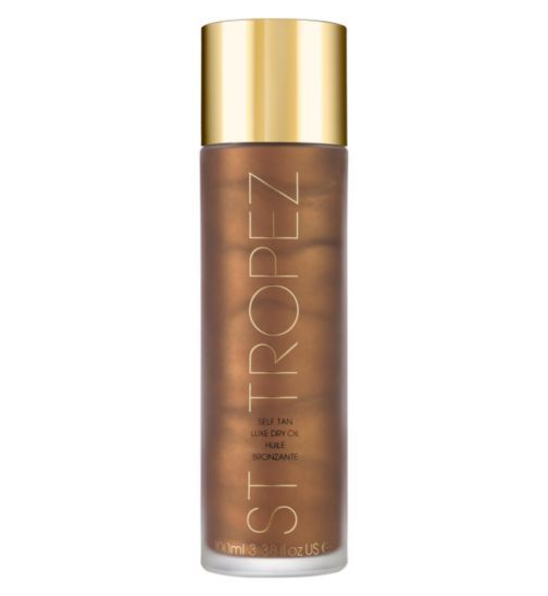 St Tropez - Selvbruner Self Tan Dry Luxury Oil - 100 ml