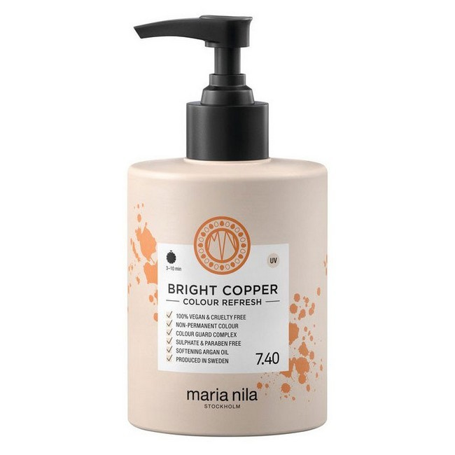 Maria Nila - Colour Refresh Bright Copper 7.40 - 300 ml